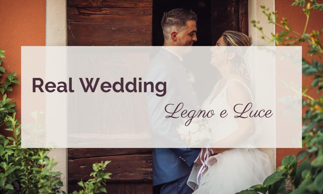 Matrimonio Legno e Luce