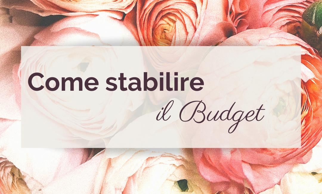 Come stabilire il Budget