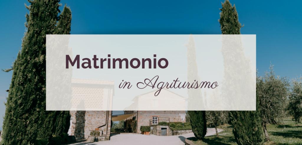 Matrimonio in Agriturismo ©righeepois