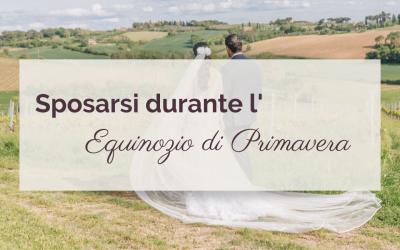 Sposarsi durante l'Equinozio di Primavera