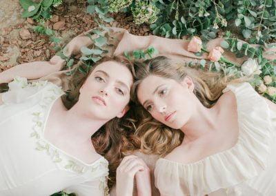 Les jeunes filles en fleurs