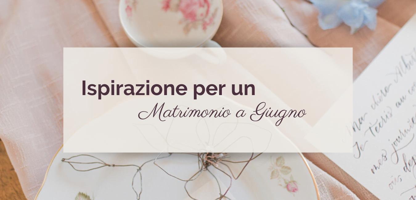 Matrimonio a Giugno ©righeepois