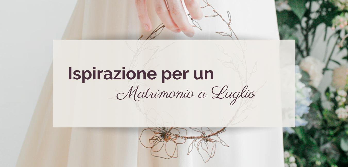 Matrimonio a Luglio ©righeepois